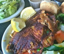 Weekend Foodspotting: Grilled Tilapia + Veggies + More Veggies @ BroilerExpress, Torrance