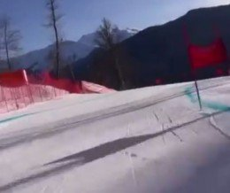Graham Bell of BBC gives us an insane first-person view of the RosaKhutor downhill skiing course at Sochi2014.  Source: https://youtu.be/eNXAIj0sP6I