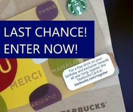 Today is the last day for entries! You can #WIN a $50 #Starbucks #GiftCard in our #contest! ENTER➔ TAP THE LINK IN OUR PROFILE
