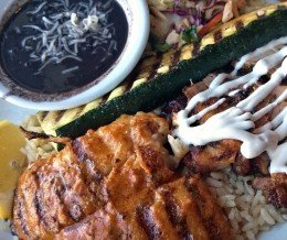 Lunch today: SurfnTurf (Swai + Chicken) @ PhilsFishGrill, Torrance