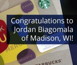 Please congratulate the winner of our Starbucks GiftCard Giveaway, Jordan Biagomala! Congratulations, Jordan. Your $50 Starbucks Gift Card is in the mail. Thank you to all who played and joined our journey on Google+. We hope you'll stick around and learn to conquer it with us. :-D