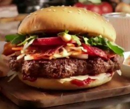 Cookery@Night: This is #ThePrimeBurger, a $12 burger from @McDonalds_Switzerland by chef @ReneSchudel. That's right, a $12 McDonald's hamburger.