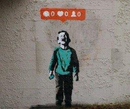 """Weekend #Art: """"Nobody Likes Me"""" by Vancouver street artist iHeart via Instagram ~ regram @iheartstencils"""
