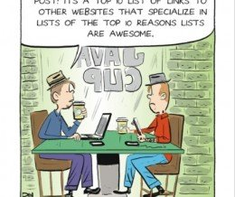 #HumpDayHumor: #Blogging the Top 10. #Comic by Dan Thompson via @GoComics ~ https://mckry.co/1fquOhD