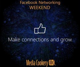 Join our Facebook networking party now at https://fb.com/MediaCookery