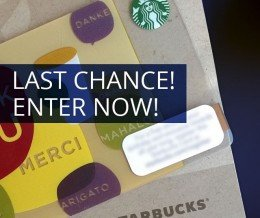 Contest ends at midnight! ENTER NOW: [TAP THE LINK IN OUR PROFILE] #freestarbucks