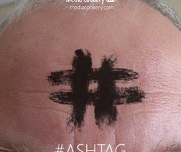 Did you get #ashtagged today? ;-) #ashtag #AshWednesday