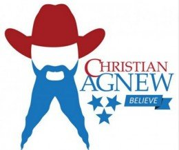 Is this Tennessee Senate candidate's campaign #logo the greatest political #logodesign of all time? It's surely the most unique. Source: https://agnewforsenate.com | #design