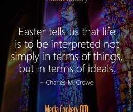Easter tells us that life is… #ideacookery