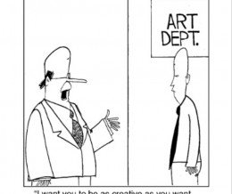 #FridayFunny: Corporate creativity. Comic by Charlos Gary via @GoComics ~ https://mckry.co/1mznhSN | #design