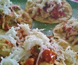 Lunch: Made some chicken fajita #tacos for #CincoDeMayo. Que rico rico!