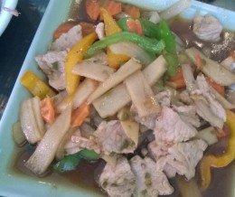 #Spicy #Bamboo #Pork @ Sawasdee #Thai, #SimiValley