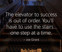 One step at a time. #MotivationMonday #ideacookery