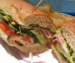 Happy #NationalSandwichMonth! #Lunch: #Ham #Sandwich @ @TorranceBakery, #Torrance ~ Yum!