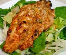 #Dinner: Spicy #Grilled #Catfish @ home ~ mmmmmm…
