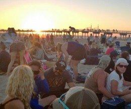 #Sunset in Hermosa #Beach @ #HermosaBeach #Summer Concerts
