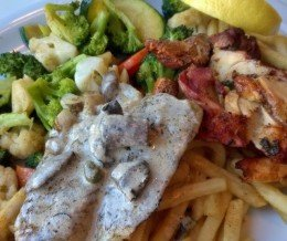 #SurfAndTurf #Swai and #Chicken Plate @ #PhilsFishGrill, #Torrance