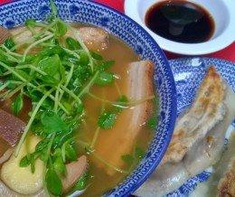 #Lunch: #Ramen & #Gyoza combo @ #BeniTora, #MitsuwaMarketplace, #Torrance