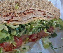 Such a good #sandwich! #Spicy #turkey @ #DelReyDeliCo, #PlayaDelRey