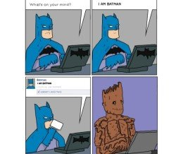#FridayFunny: I am Batman. #Comic by Pictures In Boxes ~ https://mckry.co/1wlNRHK