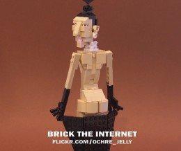 #SundayFunny: Kim Kardashian + LEGO = Brick the Internet. Photo by Iain Heath via Flickr ~ https://mckry.co/1y7SkLx
