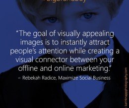 """""""How To Use Visual Content To Improve #SocialMedia Results"""" by @RebekahRadice ~ https://mckry.co/13NJRE4 #bigbrandboy"""