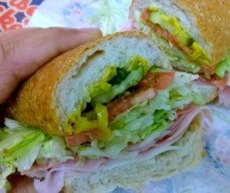 Latergram (#lunch) ~ Free birthday month meal #5: The #OriginalItalian @ #JerseyMikes, #Torrance