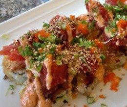 Free birthday month meal #7: #Spicy #Tuna Mountain Roll @ #SushiGoneWild, #Torrance