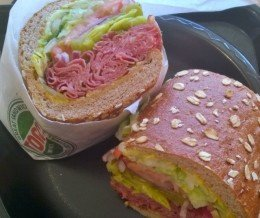 Free birthday month meal #6: Hot #Pastrami #Sandwich @ #Togos, #Torrance ~ Happy #NationalPastramiDay!