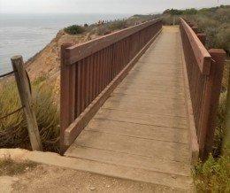 #Hiking: Bridge at #OceanTrails, #RanchoPalosVerdes
