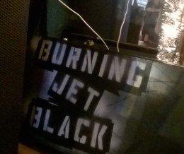 Latergram: #BurningJetBlack @ @joesgreatamerican, #Burbank