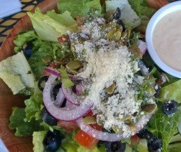 #Nutbelly #salad @ #NutbellyPizzeria, #Carpinteria