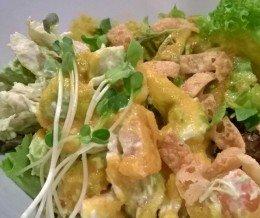 #Avocado #ChickenSalad @ #HakataRamenShinSenGumi, #WestLA