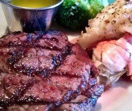 #FiletMignon #steak & #Lobster tail @ #BlackAngus #Steakhouse, #Torrance