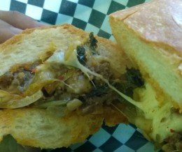 The Torrance w/ grilled #kimchi @ #SandwichBlvd, #Torrance