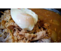 #Sutamina (garlic #pork) #curry w/ fried #egg @ #Sutadonya, #Torrance