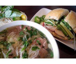 Soup & sandwich, #Vietnamese style: #pho & #bahnmi