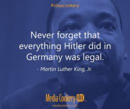 Never forget. #mlk #ideacookery