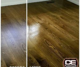 Before & After pics like this show off great results and get noticed in #socialmedia photo shares. Here, we've also included a watermark of our client's #logo to amplify their brand. #Repost @cefloorcare