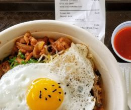 From a new #Korean cafe that opened near us in Torrance, @SokuriKitchen: #spicy chicken #bibimbap with #kimchi #friedrice. It's really good! 😋 We ❤️ design and marketing for restaurants! info@mediacookery.com