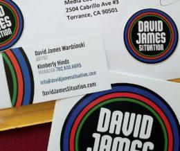 Got some #schwag from #DavidJamesSituation, whose logo we had designed. Thx, @davidjames3000! #kwonshare