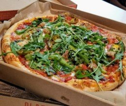 Got a #bogo deal at #BlazePizza. Love this place! We ❤️ design and marketing for restaurants: info@mediacookery.com