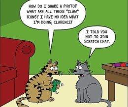 #Caturday Comic: @scottmetzgercartoons
