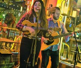 Saw the wonderful @RockTheAshbah & @TheDavidSparrow perform at nearby @TortillaCantina in Old Torrance on Friday. 🎶 Catch Ashleigh here every other Friday 'til March!