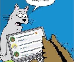 Happy #Caturday! #Repost @scottmetzgercartoons