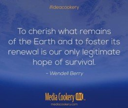 Cherish what remains of the Earth. #EarthDay #ideacookery