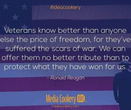 We humbly offer our respect and gratitude to all who have served. 🇺🇸 #ideacookery