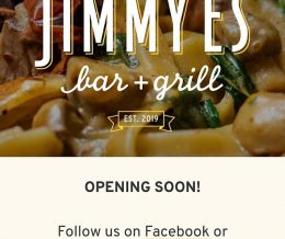 We're putting the finishing touches on a new website for @jimmyesbarandgrill. Visit ▶️ LINK TO WEBSITE IN BIO ◀️ for a sneak peek! ☝️ We ❤️ design and marketing for restaurants! info@mediacookery.com | #designcookery