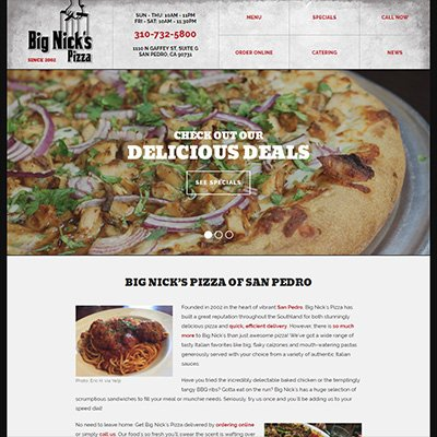 Big Nick's Pizza